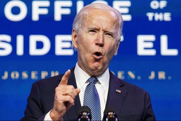 Joe Biden à Wilmington, jeudi.