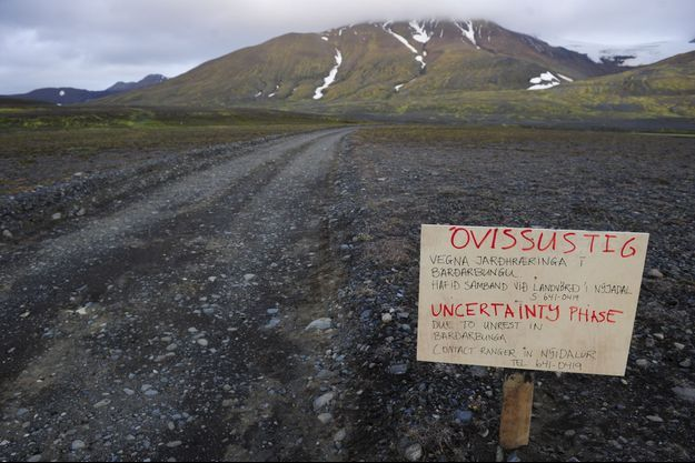 Les autorités islandaises redoutent une éruption importante.