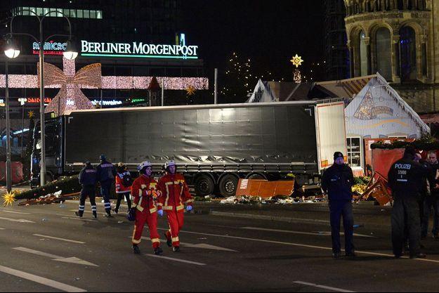 Le camion de 38 tonnes était immatriculé en Pologne.
