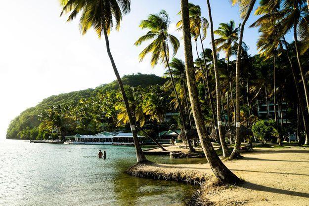 Baie de Marigot.