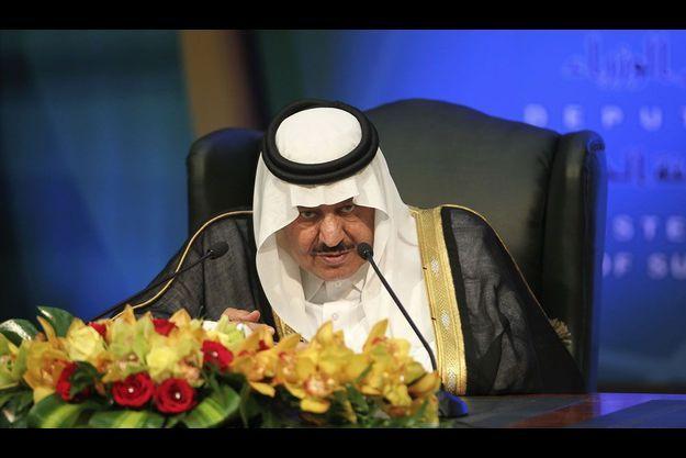 Le prince Nayef, en 2011.