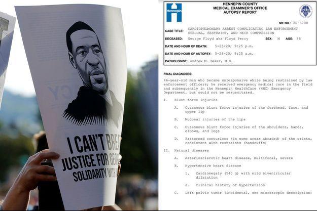 """Les manifestations pour réclamer """"Justice pour George Floyd"""" se poursuivent."""