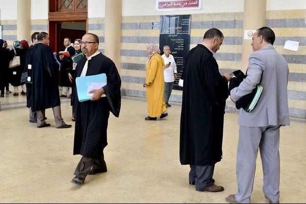Tribunal de Salé, au Maroc, le 27 juin 2019.