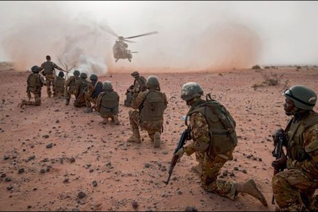 Les Forces spéciales maliennes , ici lors d'un entrainement mars 2017, sont intervenues après l'attaque du 18 juin 2017 contre le campement Kangaba à Bamako