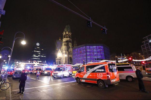 L'attaque a eu lieu lundi soir à Berlin.