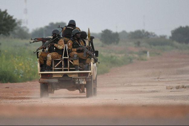 Image d'illustration, des gendarmes burkinabés à Ouagadougou.