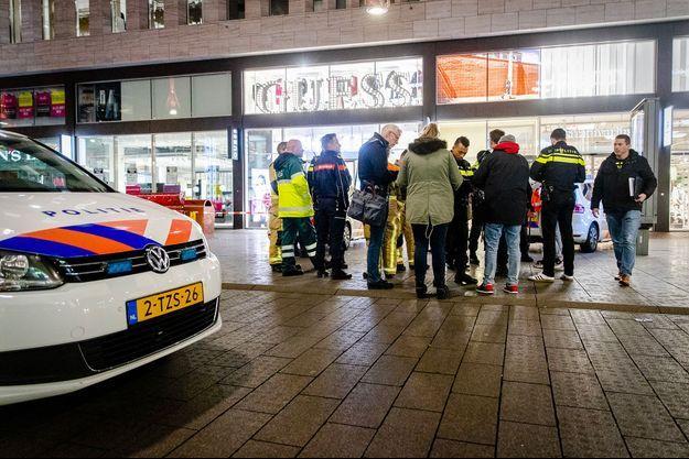Quelques minutes après l'attaque à La Haye.