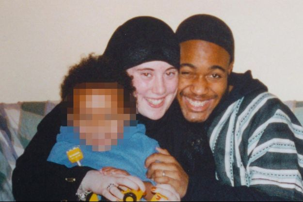Samantha Lewthwaite, avec Jermaine Lindsay et leur premier enfant.