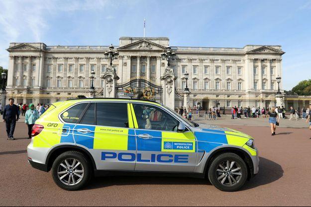 La police à Londres après l'attaque survenue vendredi.