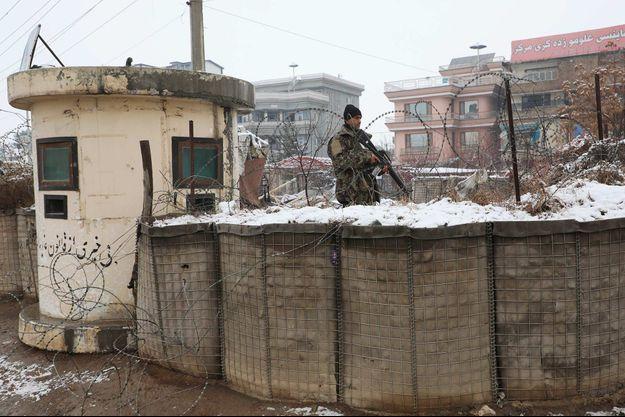 À Kaboul, en février 2020.