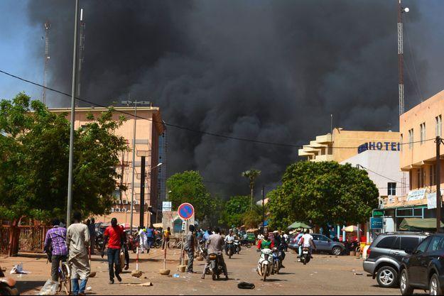 A Ouagadougou, au Burkina Faso, vendredi.