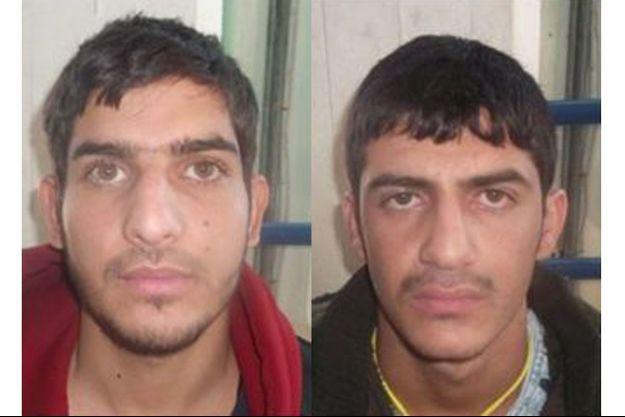 Deux des trois kamikazes du Stade de France, toujours non identifiés à ce jour.