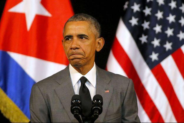 Barack Obama à La Havane
