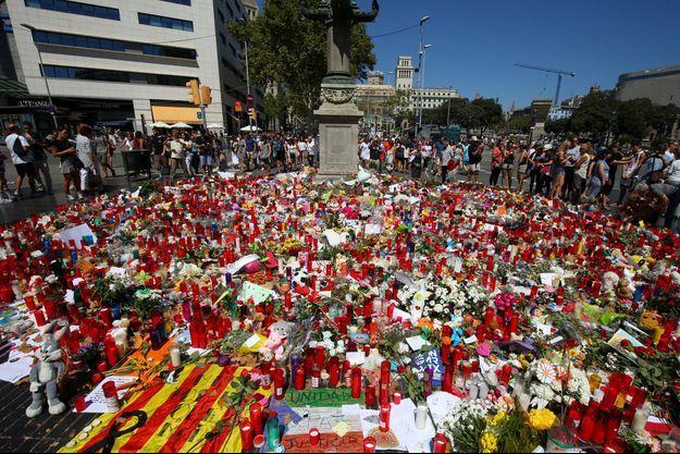 Les attentats ont fait 15 morts en Catalogne.