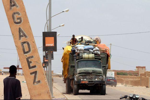 Agadez, au Niger, en 2011. (Photo d'illustration)
