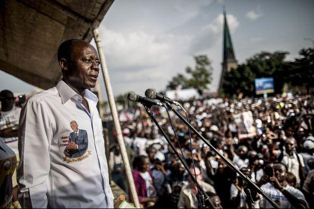 Jean-Marie Michel Mokoko, en 2016.
