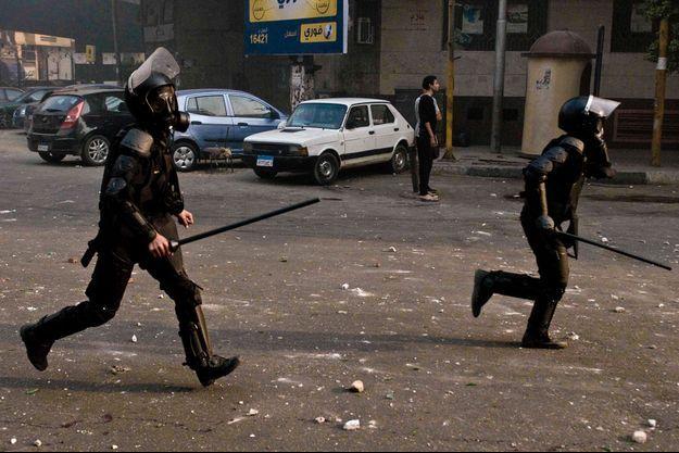 Illustration police égyptienne