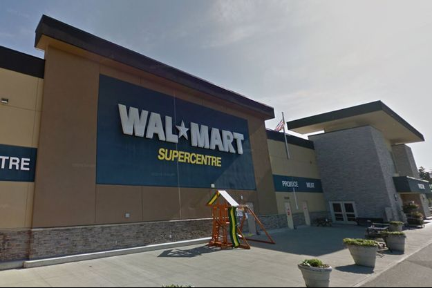 Supermarché Walmart à Duncan.