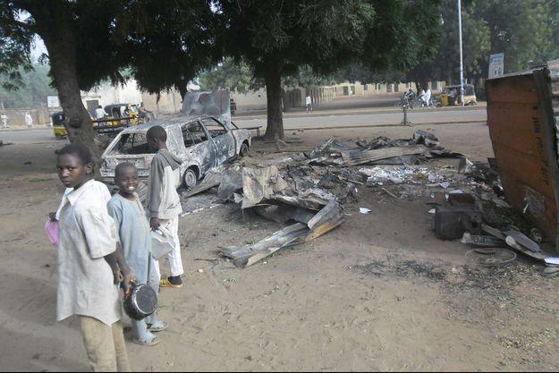 Le marché de Potiskum a été visé ce lundi, au Nigeria.