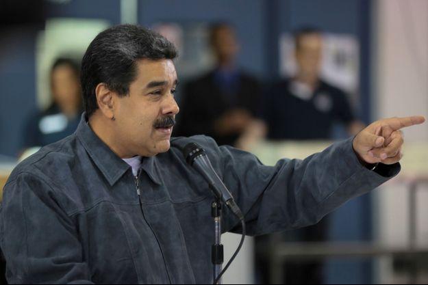 Nicolas Maduro le 27 août.