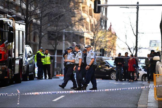 Un homme a poignardé une femme en pleine rue du centre de Sydney