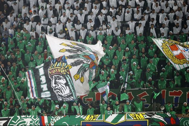 Supporters Rapid Vienne