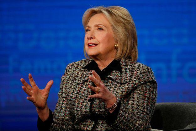 """Hillary Clinton à Pasadena en Californie, vendredi dernier, pour la présentation du documentaire """"Hillary""""."""