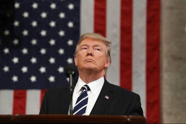Donald Trump à la Chambre des représentants le 27 février 2017, Washington