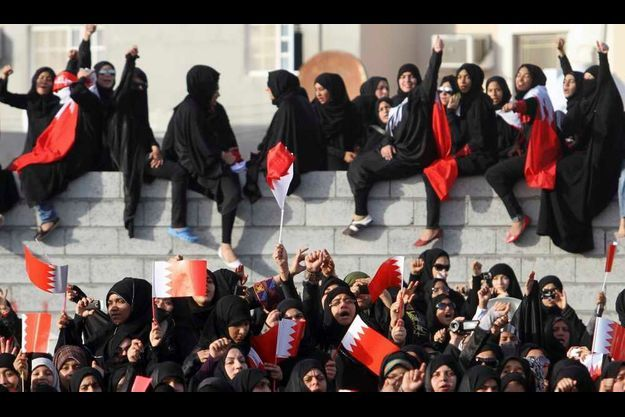 Un groupe de femmes s'était joint à la plus grande manifestation anti-gouvernementale organisée depuis la répression de la mi-mars, le 17 juin dernier.