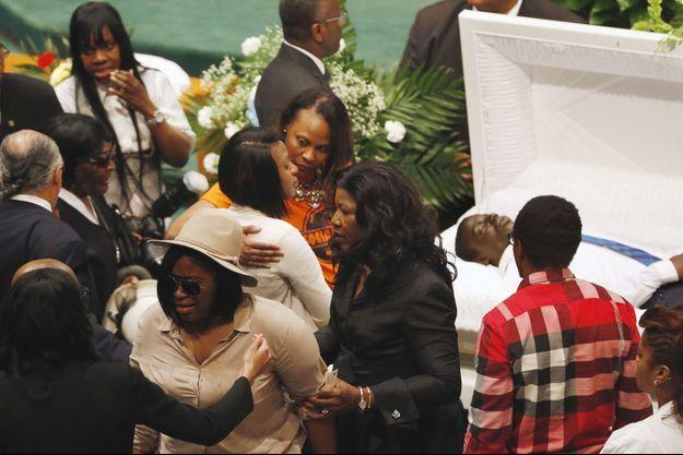 Les funérailles de Freddy Gray.
