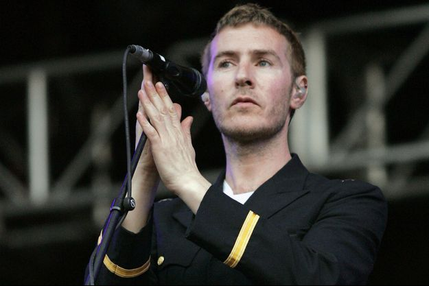 Robert Del Naja, membre fondateur du groupe Massive Attack.