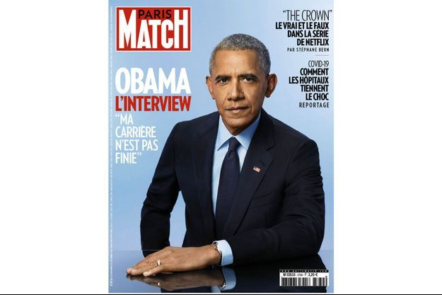 Barack Obama à la Une de Paris Match.