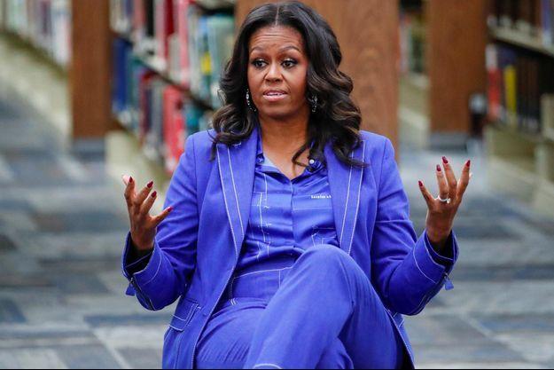 Michelle Obama à Chicago, le 12 novembre 2018.