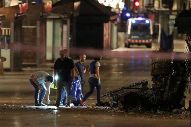L'attaque terroriste en Catalogne a fait au moins 14 morts.