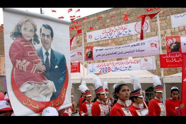 Ben Ali devrait être réélu dimanche.