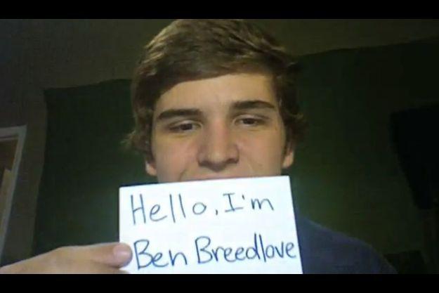 Capture d'écran de la vidéo de Ben Breedlove.