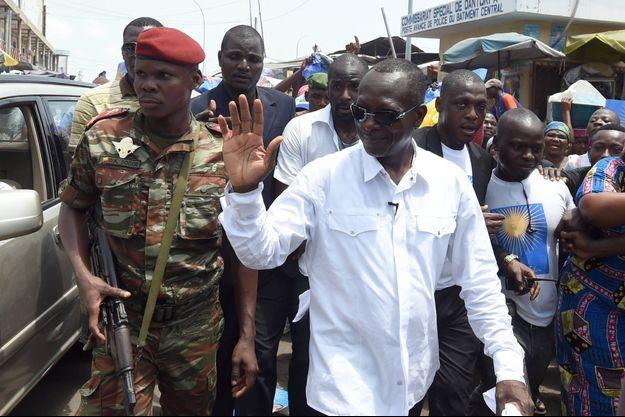 Le milliardaire Patrice Talon vainqueur de l'élection présidentielle au Bénin, ici à Cotonou le 4 mars 2016