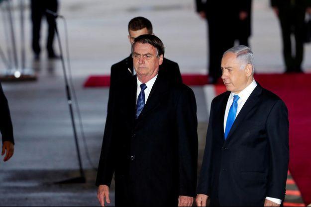 Jair Bolsonaro, Benjamin Netanyahou