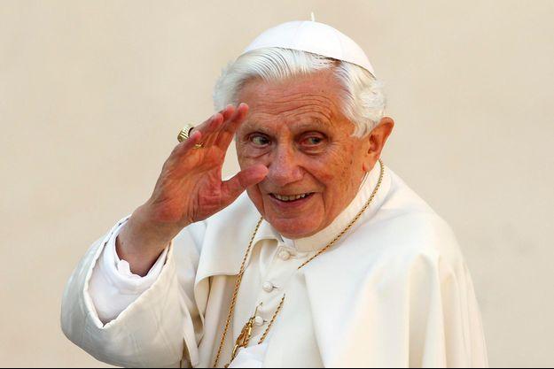 Le pape émérite Benoit XVI