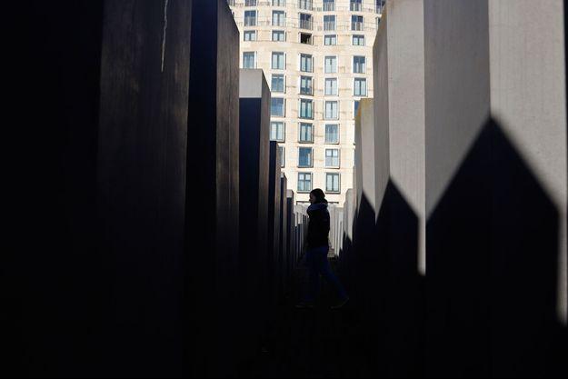 Mémorial de la Shoah à Berlin.