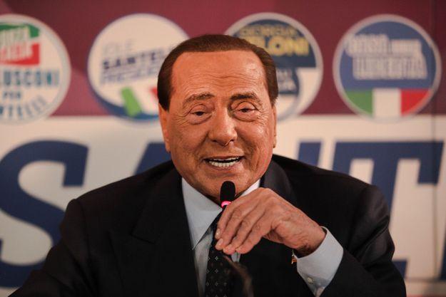Silvio Berlusconi en janvier 2020.
