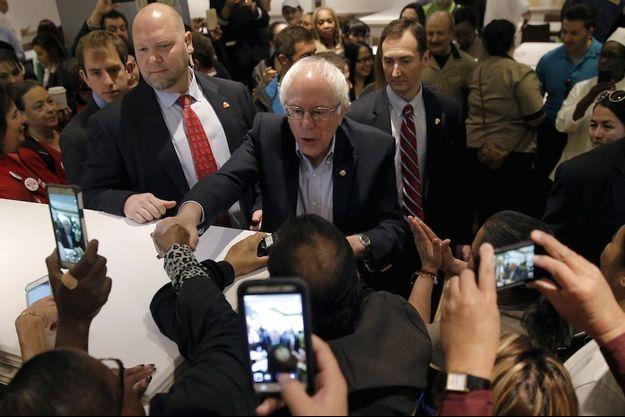 Bernie Sanders en meeting le 20 février à Las Vegas