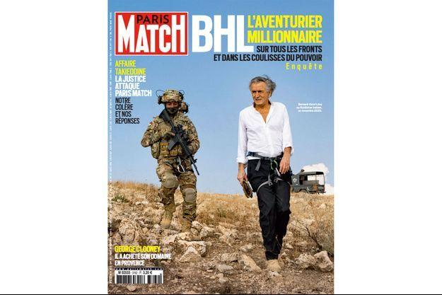 Bernard-Henri Lévy au Kurdistan irakien en novembre 2020.