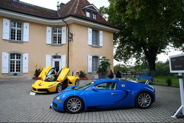 Des voitures de luxe appartenant au fils de Teodoro Obiang.