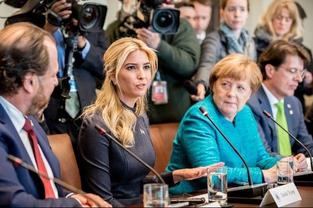Ivanka Trump et Angela Merkel