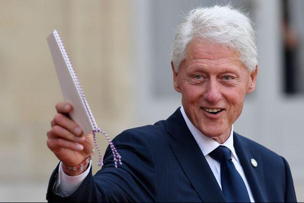 Bill Clinton, à l'Elysée, le 30 septembre 2019.