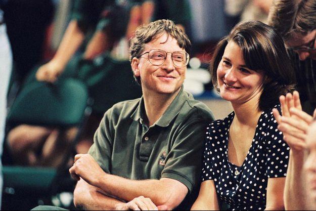 Bill et Melinda Gates en 1996, au temps du bonheur.
