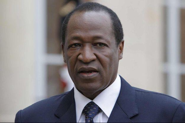 Blaise Compaoré en 2012.