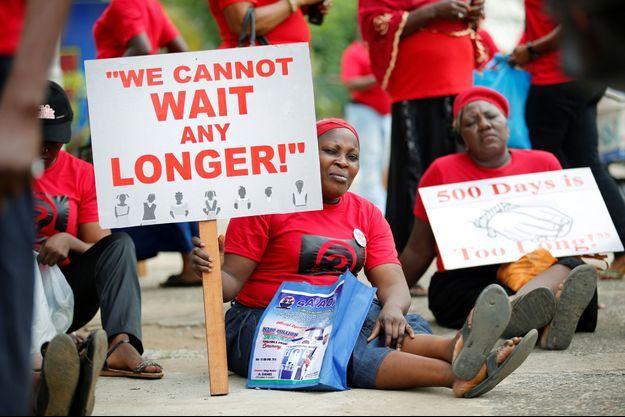 Cela fait deux ans que les jeunes filles de Chibok ont été enlevées par Boko Haram au Nigeria.