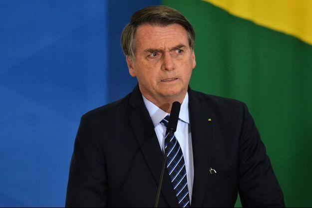 Jair Bolsonaro à Sao Paulo le 29 août 2019.